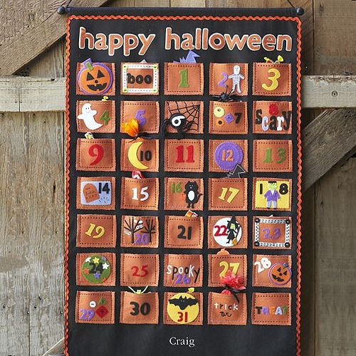 halloween advent calendar online