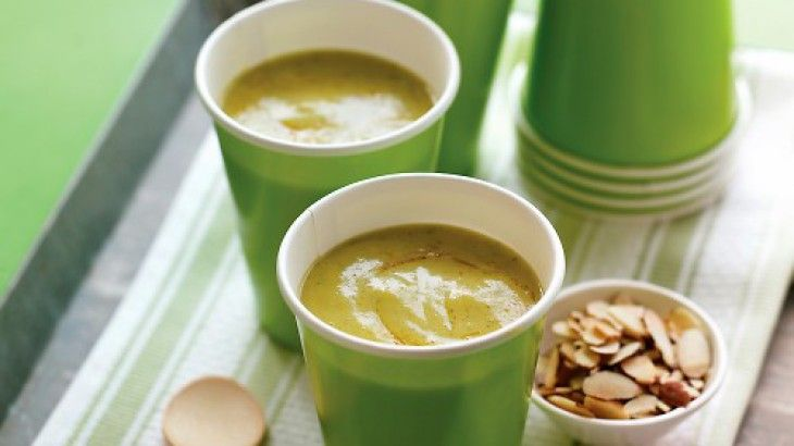 Curried Zucchini Soup Recipe. Ingredients: olive oil, onion, coarse ...