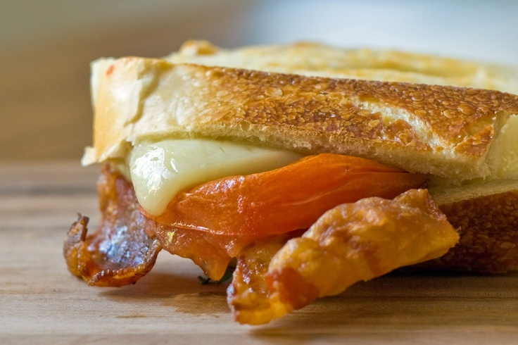 ... chedder bacon heirloom tomato panini...yummy | Panini | Pinterest