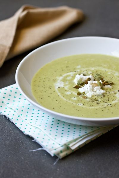 Creamy asparagus soup with goat milk | RECIPES - GOAT MILK | Pinterest