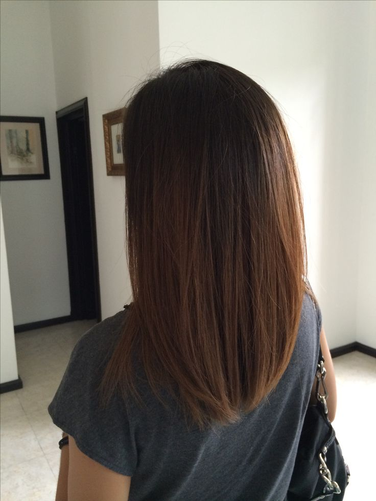 1000 Ideas About Extra Long Bobs On Pinterest Brunette
