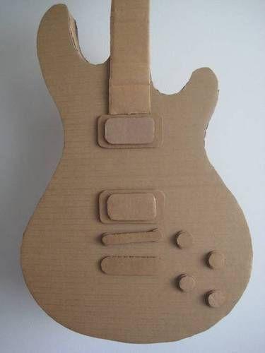 Гитара из картона для куклы своими руками 10