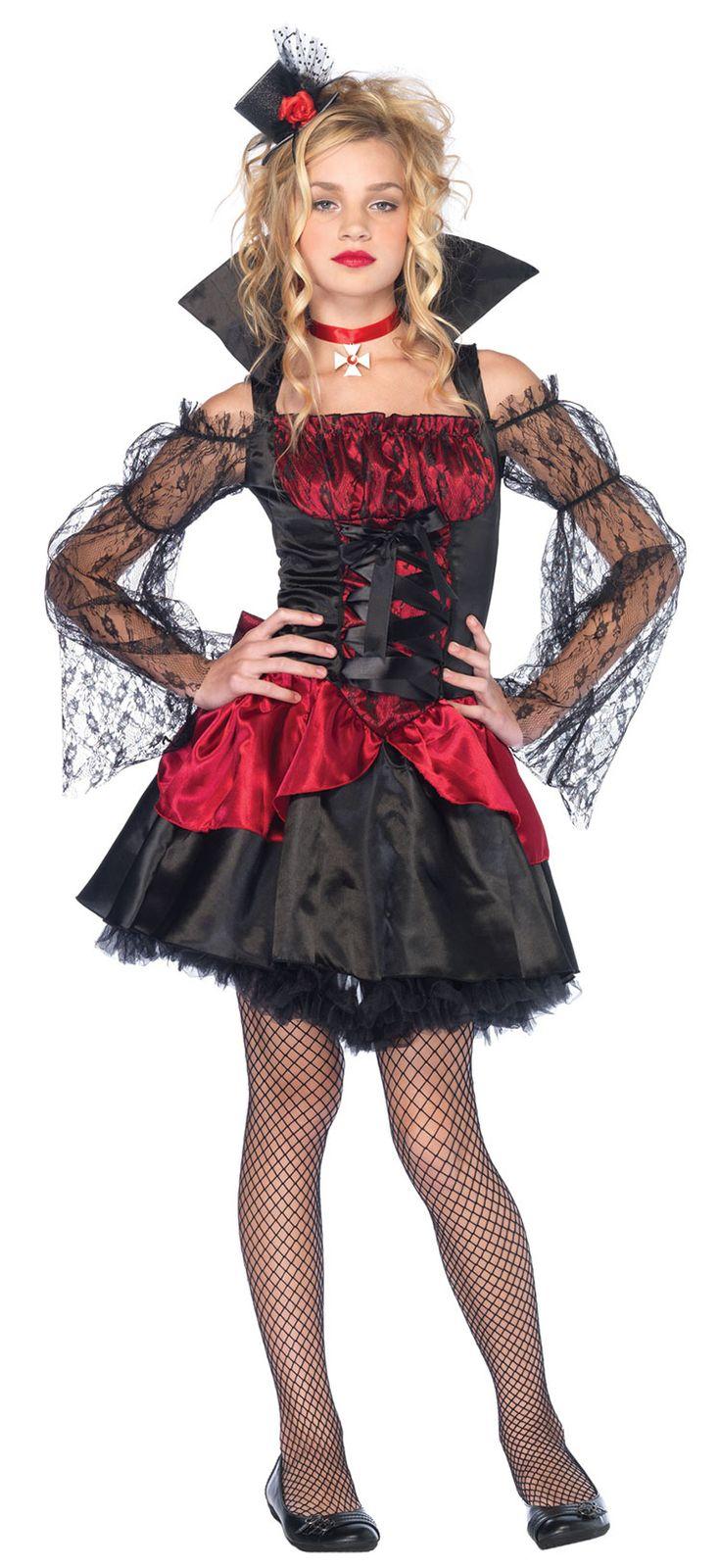 Вампирский костюм на хэллоуин