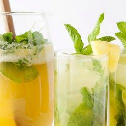 Pineapple Arugula Mint Mojitos Recipe — Dishmaps
