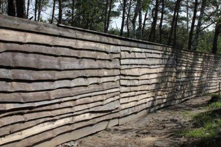Забор на дачу из поддонов своими руками
