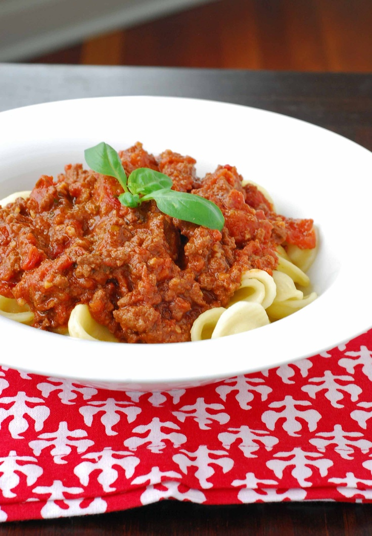 Weeknight Bolognese | Yudith @ Blissfully Delicious