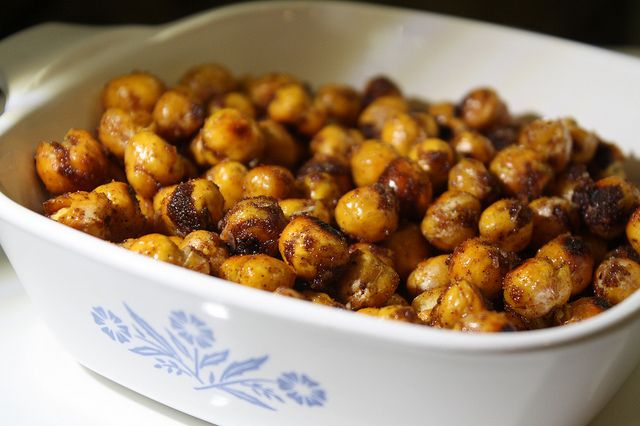 Sweet & Salty Roasted Chickpeas | | I Made it! | Pinterest