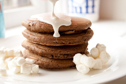 pancakes with marshmallow sauce | Cookies, Candy, Bars & Brownies | P ...