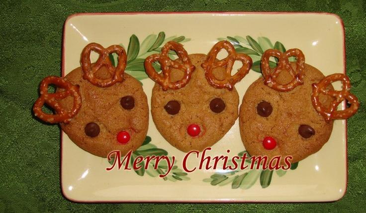 Reindeer Cookies Christmas Rudolph Sugar Cookies - amcordesign.us