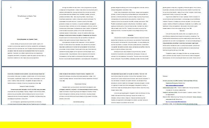 cja 394 policing functions paper