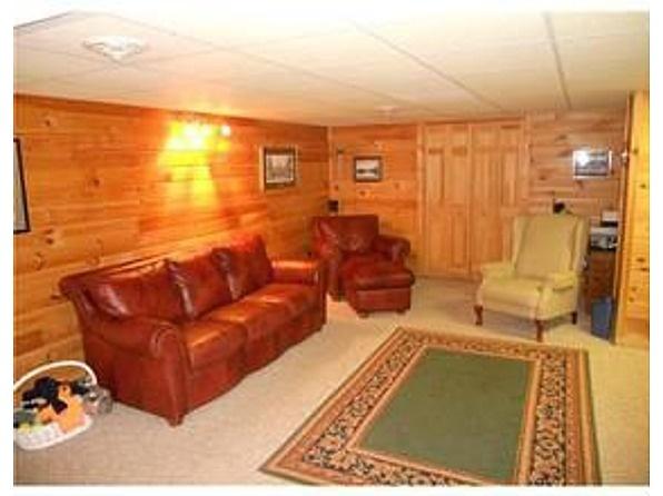 Man Cave In Basement Log Cabin Love Pinterest