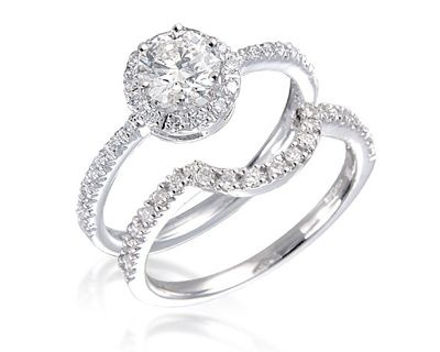 Engagement rings withh matching wedding rings from Dublin jewellers ...