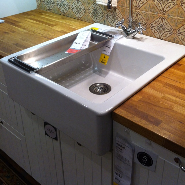 Ikea Poang Chair Directions ~   www finehomebuilding com item 15663 farmhouse sink into ikea cabinets