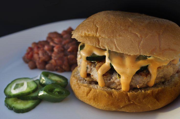 Kolache Burger - homemade kolache bun on a freshly ground pork burger ...