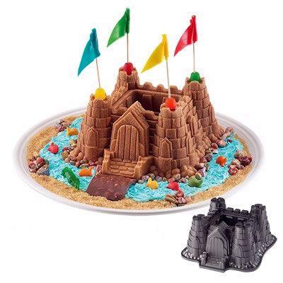 Nordic Ware Castle Cake