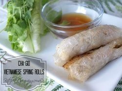 Vietnamese Spring Rolls -Cha Gio | Cooking | Pinterest
