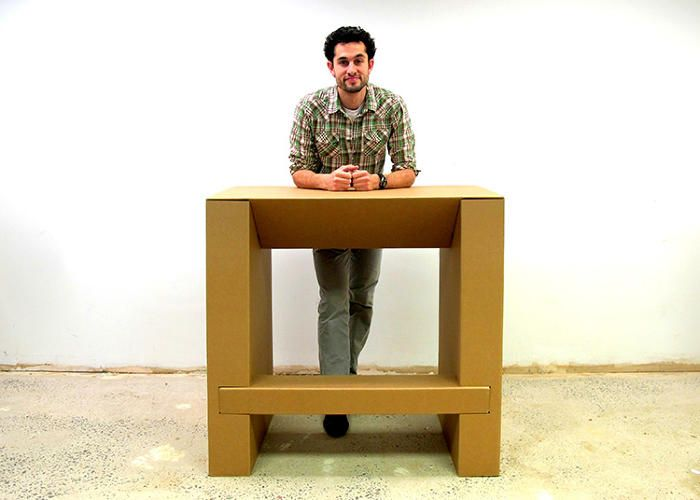 This Cheap, Strong Cardboard Standing Desk Will Let You Ditch Your De ...