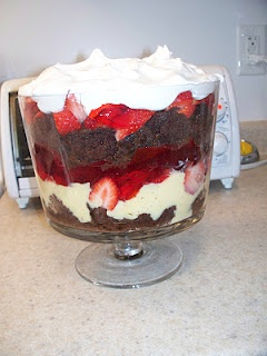 dishmaps english trifle to die for recipe yummly english trifle flickr ...