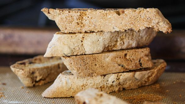 Whole Wheat Cranberry Pecan Biscotti *recipe from the Starbucks site