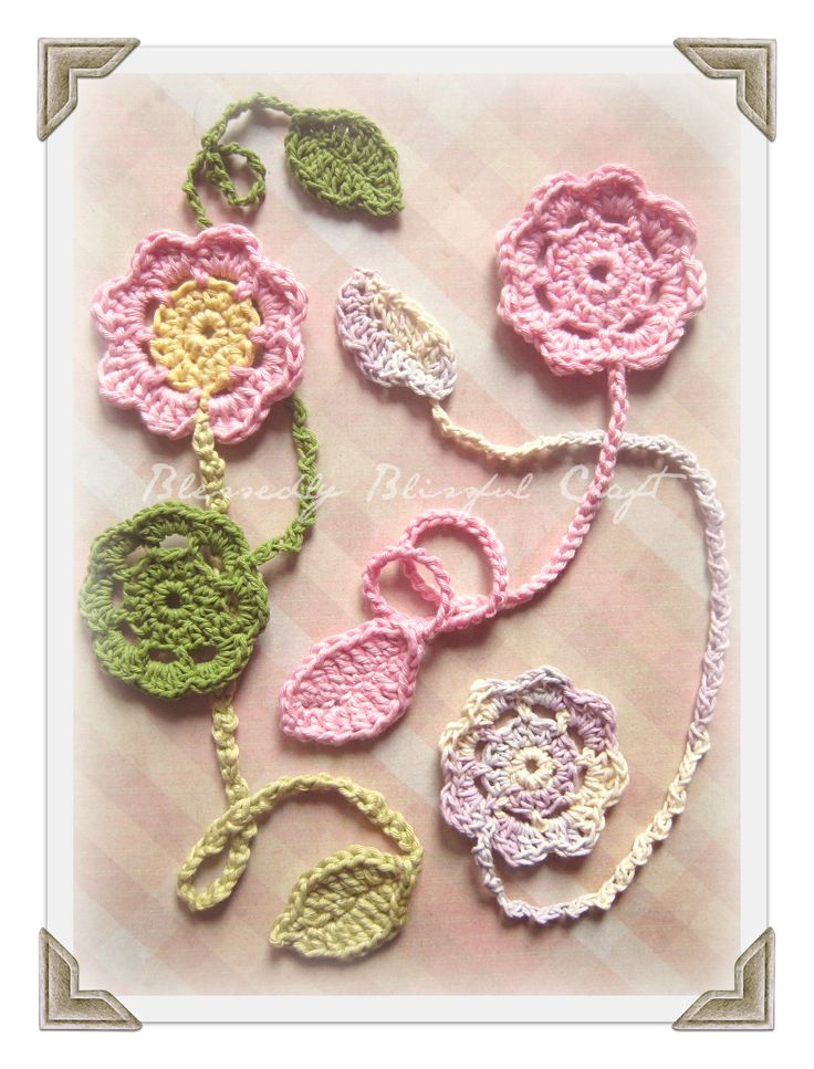 Crochet Bookmarks : Crochet Bookmark Crochet Bookmarks Pinterest
