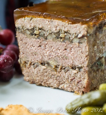 Rustic Lambs And Clams Pate With Cognac Gelee Recipe ...