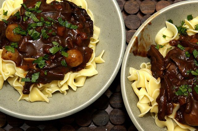 Mushroom Bourguignon by smitten. This one it on top of my list for ...
