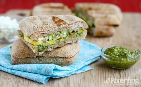Grilled summer vegetable panini | Crazy quilting | Pinterest