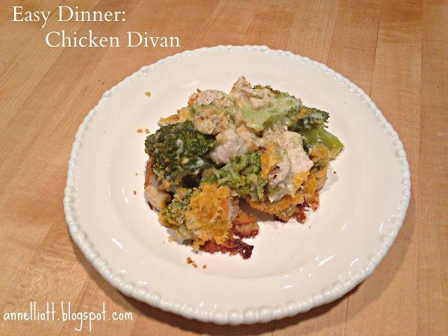 Chicken Divan | Nom Nom Nom | Pinterest