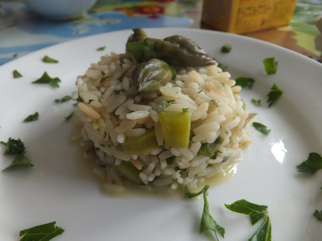 Asparagus risotto | here's to..becoming a better cook! | Pinterest