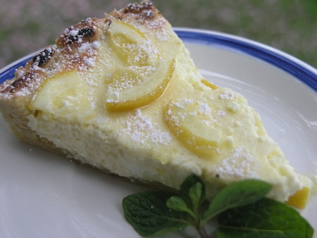 Crostata al Limone (Lemon Ricotta Tart) | Favorite Recipes | Pinterest