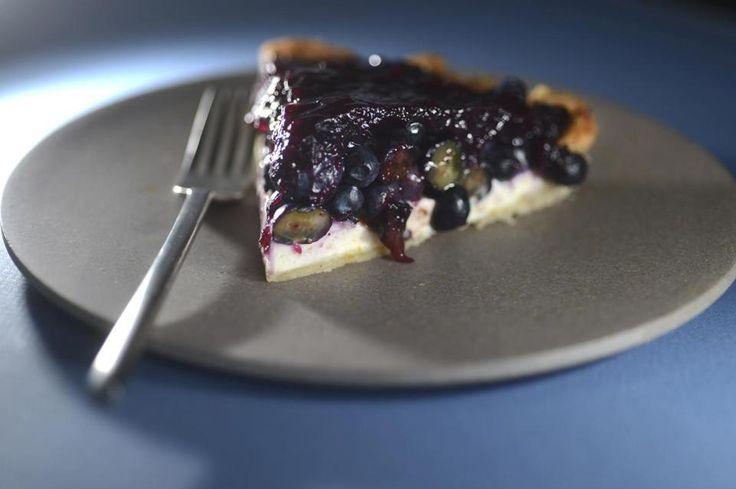 Recipe for no-bake blueberry glazed pie - The Boston Globe