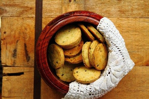 Savoury herb cookies, with chives | Savoury cookies | Pinterest