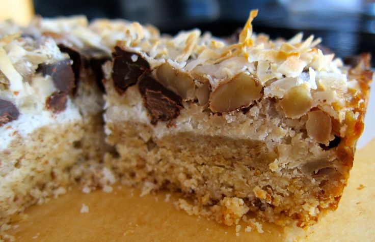 crust lightened up magical coconut bars recipes dishmaps coconut bars ...