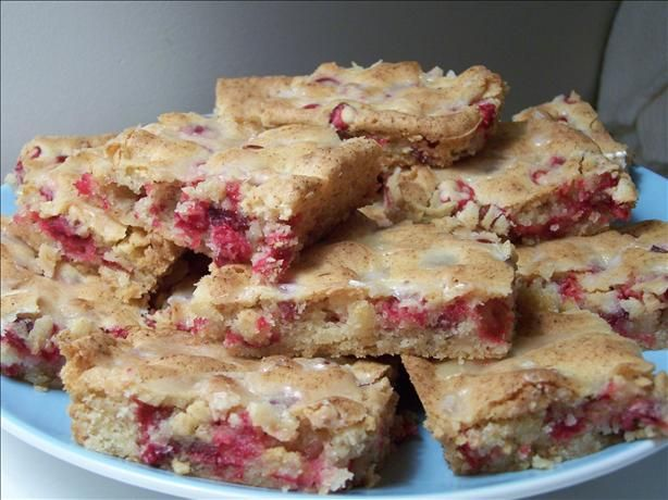 Cranberry bars recipe for What to make with fresh cranberries