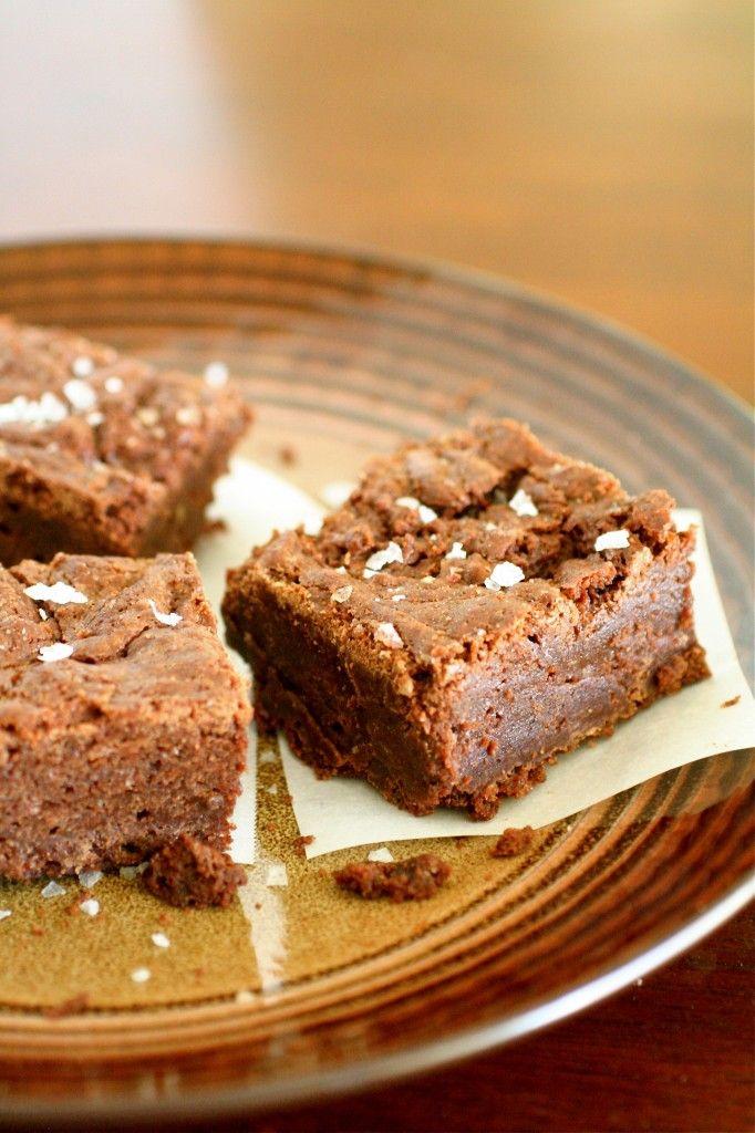 Sea Salt Fudge Brownies | I make delicious things. . . | Pinterest