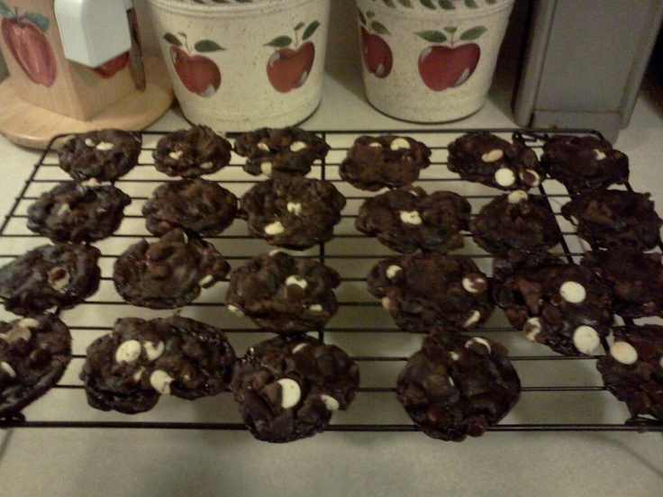 Dark Chocolate Espresso Cookies   SWEETS - For my Dawnie & Dani