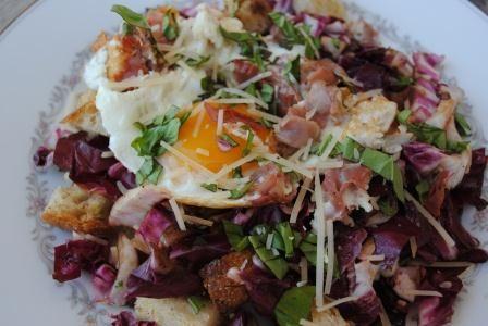 Grilled Radicchio Salad | Isabelle at home: food all food! | Pinterest
