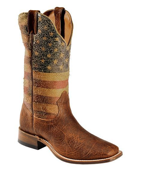 Boulet American Flag Boots. | A Sea of Fashion