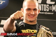 Junior dos Santos Latest Fighter to Sign with Nike. Two of my favorite things.