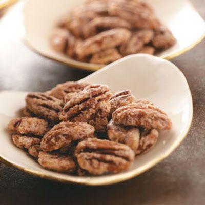 Candied Pecans Recipe - Key Ingredient   Menu   Pinterest
