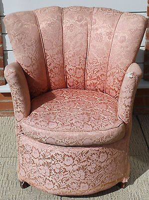Scalloped back chair Etsy