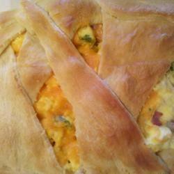 Ham Breakfast Braid | Food | Pinterest