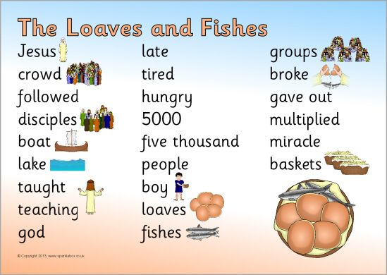 Pin by derinda slone on bible class pinterest for Loaves and fishes bible story