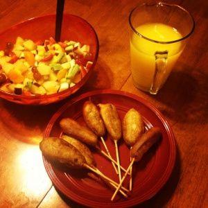Breakfast Corn Dogs ! | Recipes | Pinterest