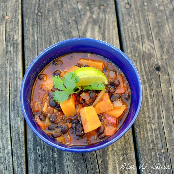 Smokey Black Bean & Sweet Potato Chili | Health/Beauty/Food | Pintere ...