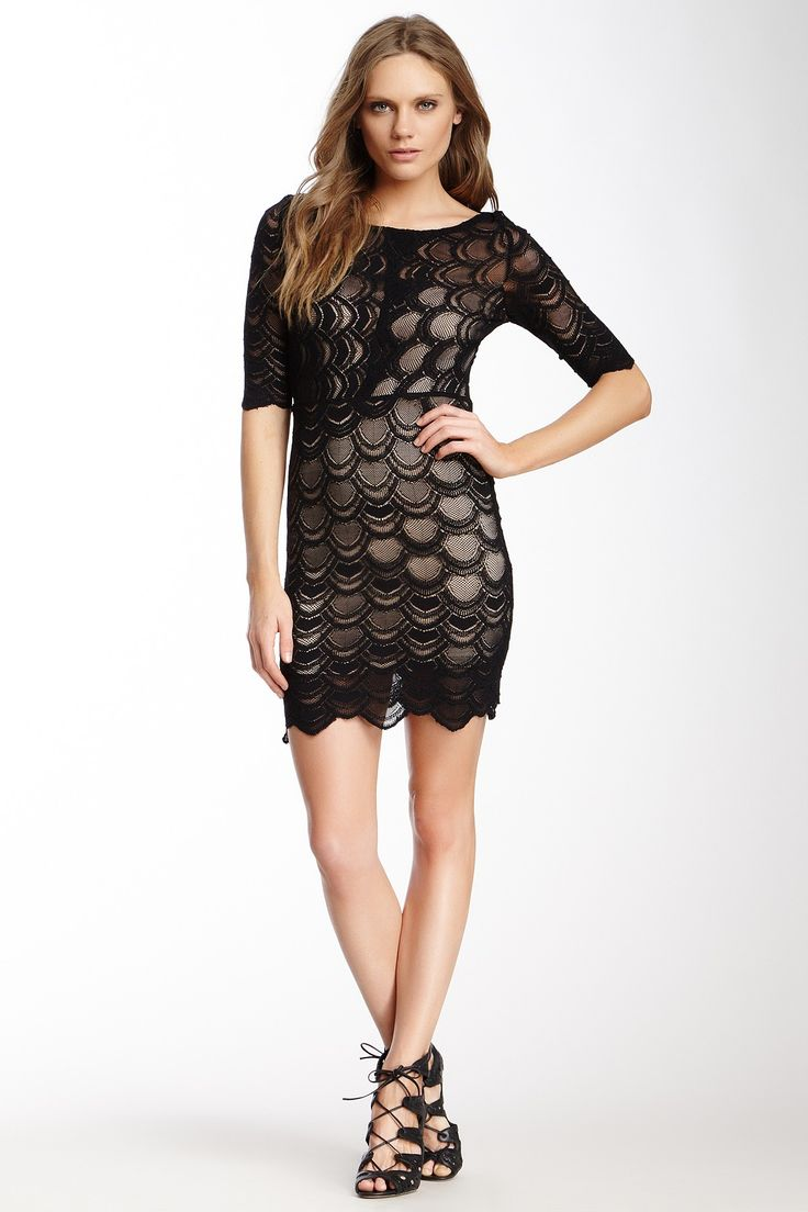 Nightcap Boyfriend Blouse Dress In Black 42