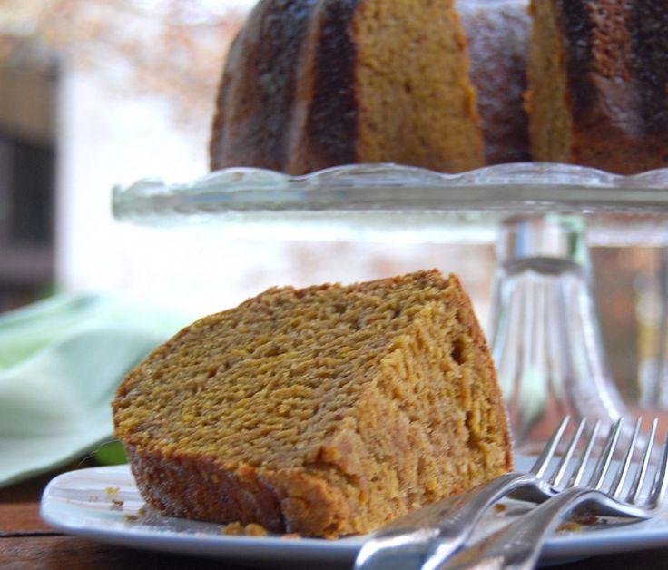 Chai-Spiced Pumpkin Bundt Cake | Recipe