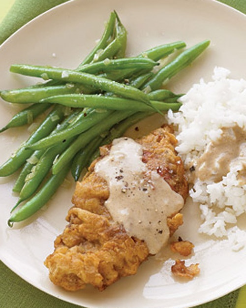 Country Fried Steak With Gravy Recipe — Dishmaps