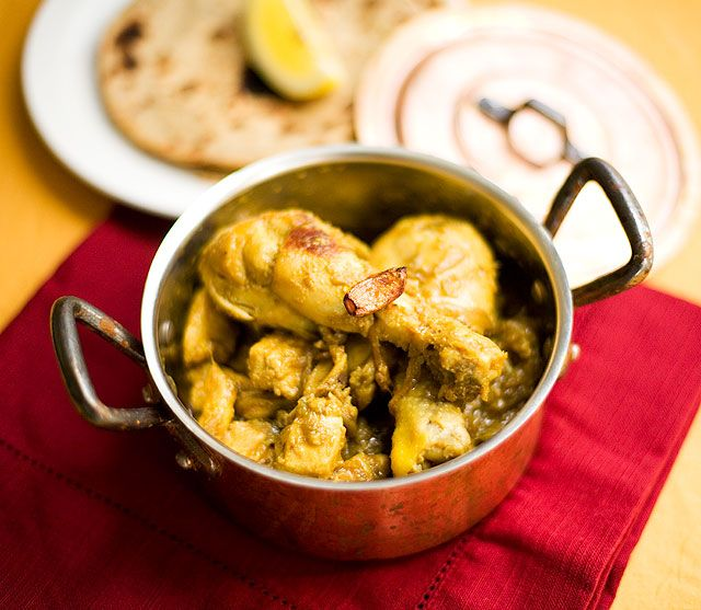 Garlic Chicken.