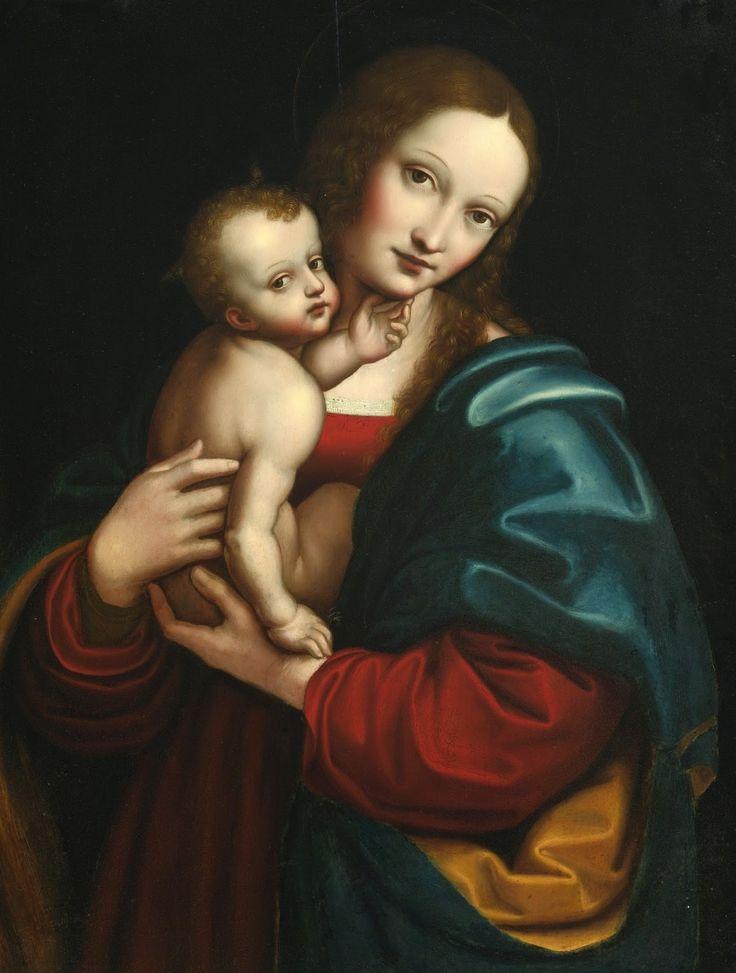 Giampietrino, probably Giovanni Pietro Rizzoli (active 1495-1549) — Madonna and Child, (1210×1600)